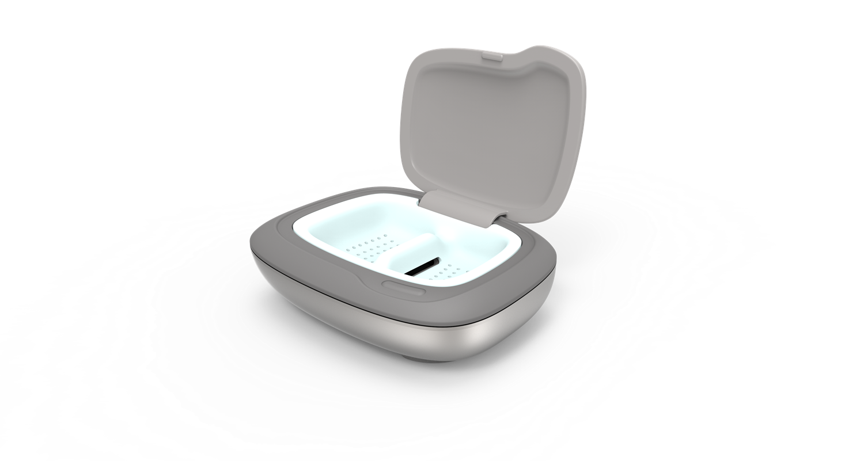 AudioNova - Clean & Dry boks til rensning af høreapparater