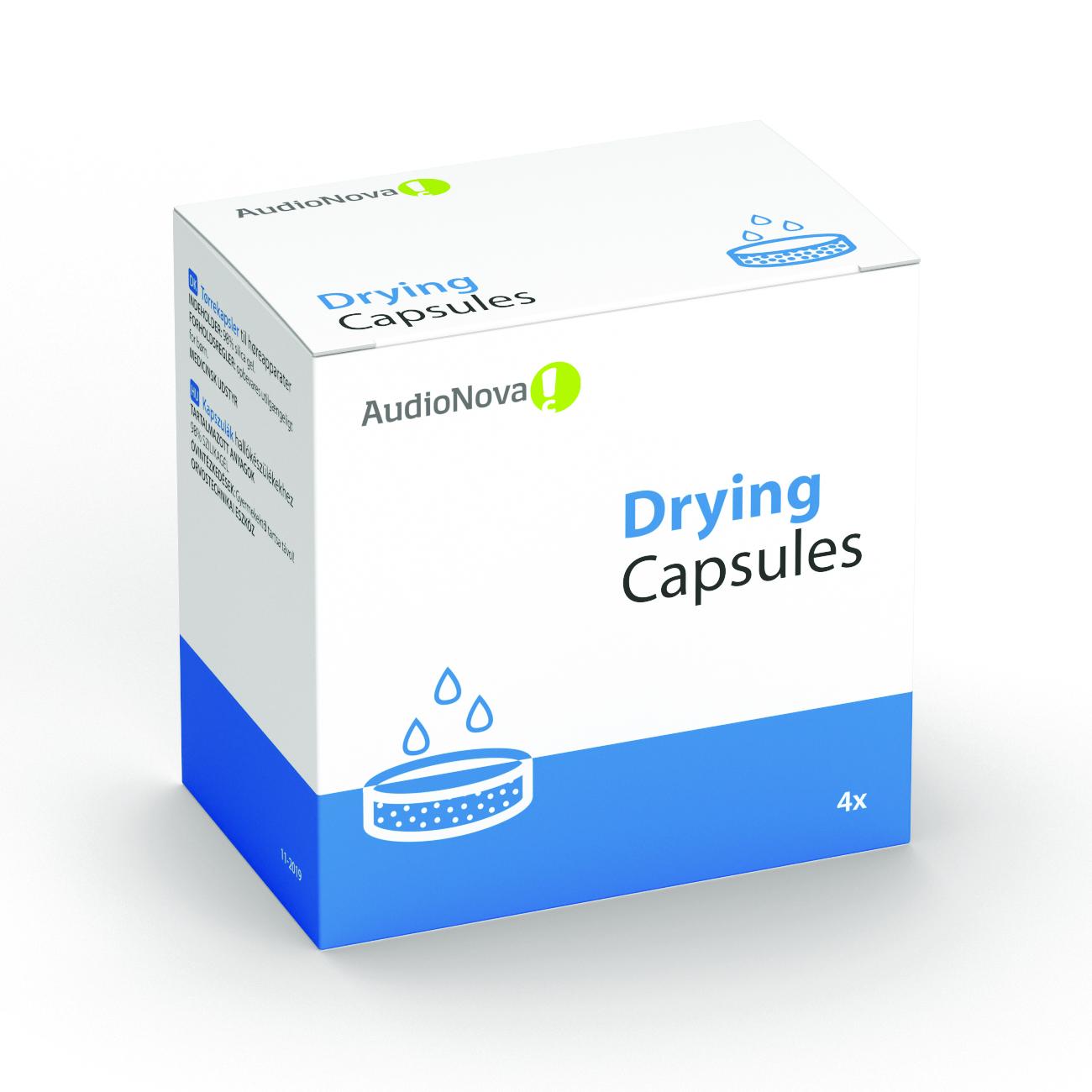 AudioNova - tørrekapsler til høreapparater