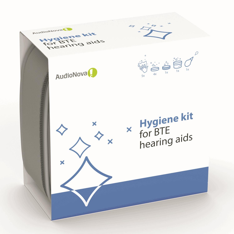 AudioNova - rengöringskit för BTE-hörapparater