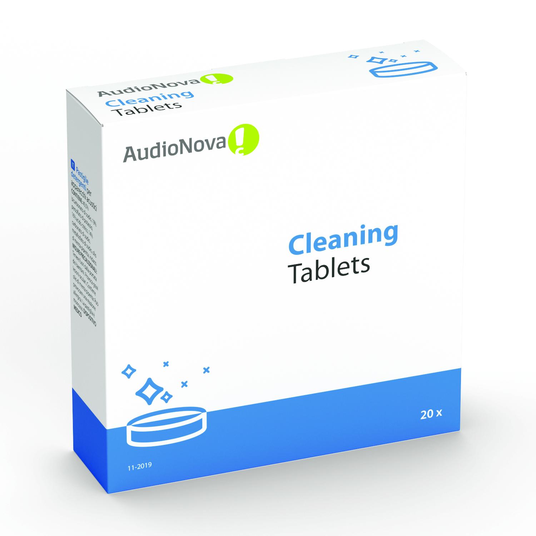 AudioNova - rengöringstabletter för hörapparater 20 st