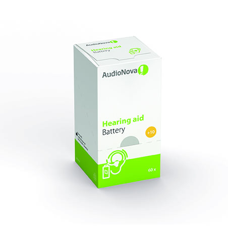 Hoortoestel batterijen maat 10